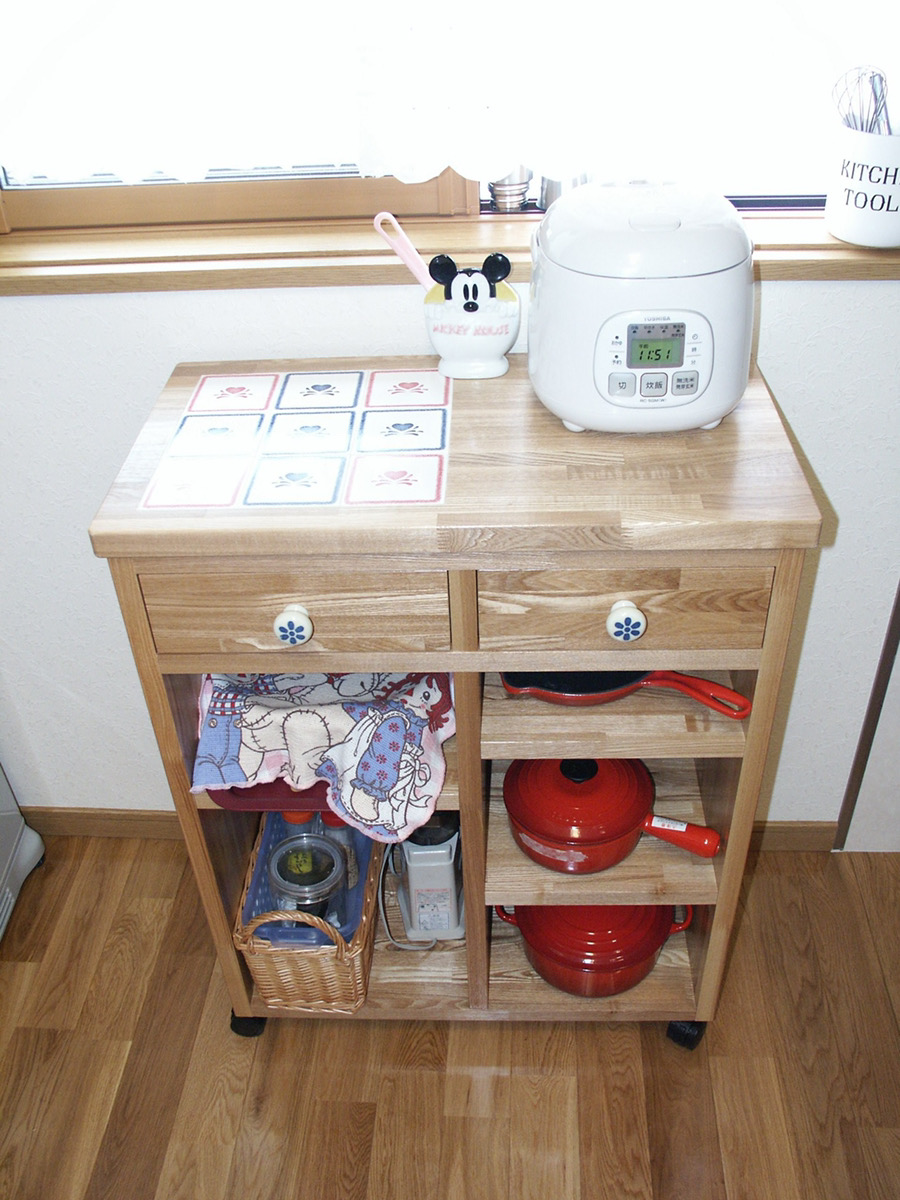 キッチン可動式収納