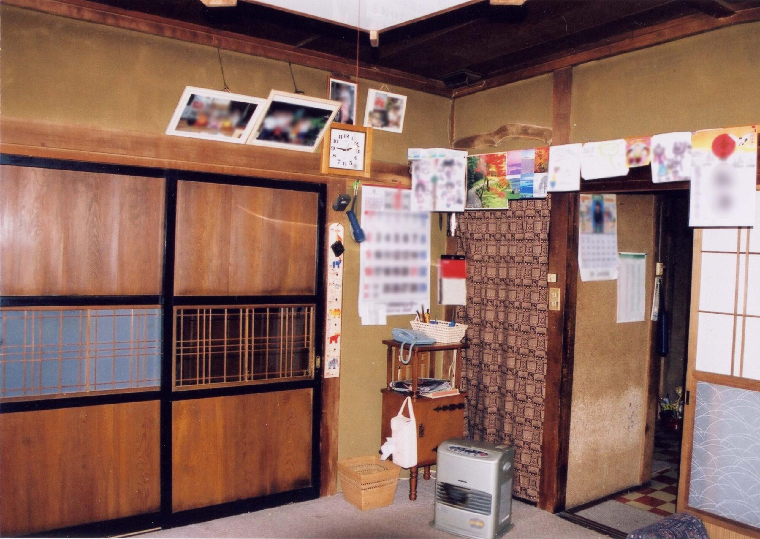 佐久市のリフォーム キッチンと居間のリフォーム