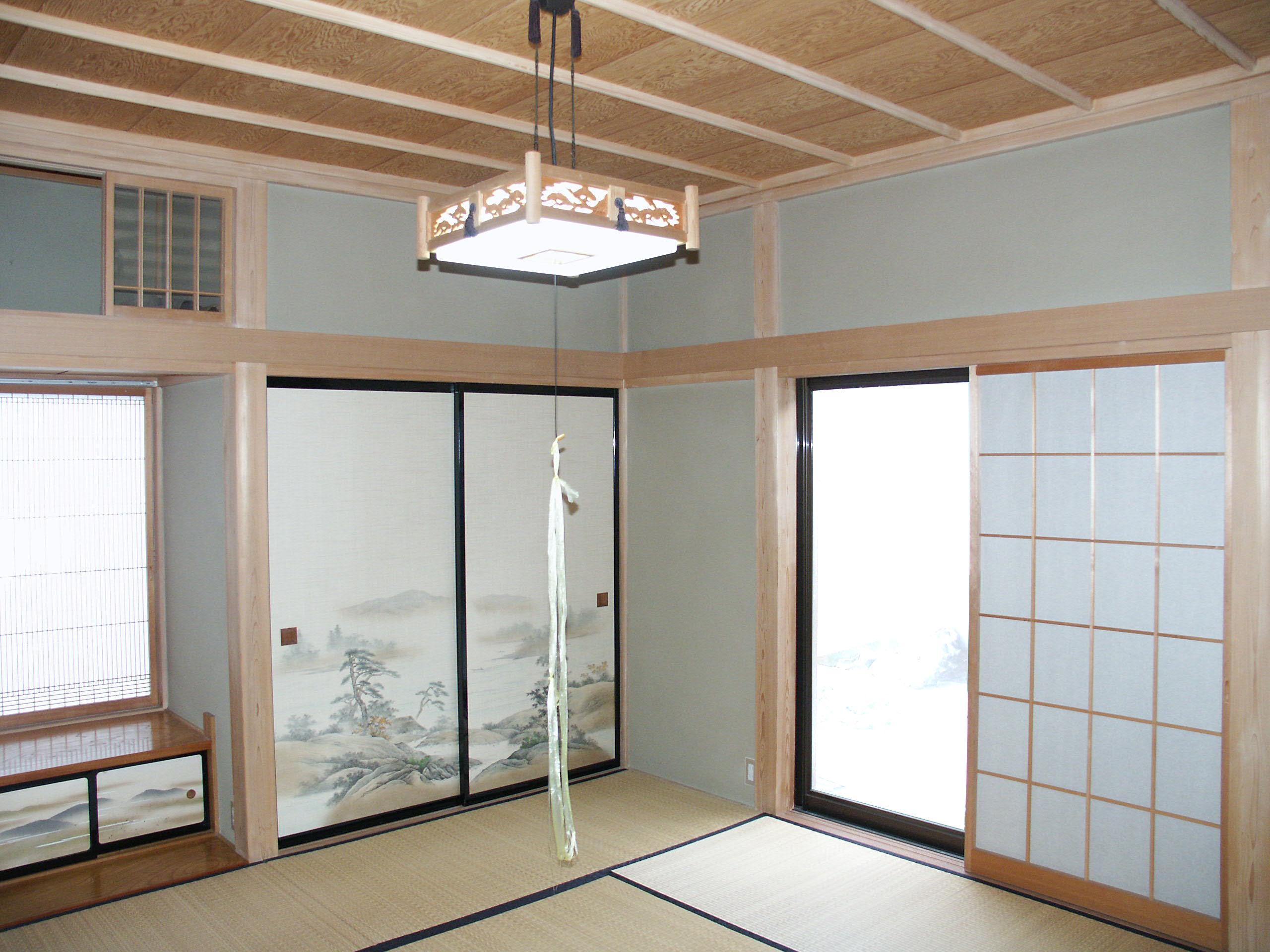 坂城町のリフォーム LDK・和室のリフォーム